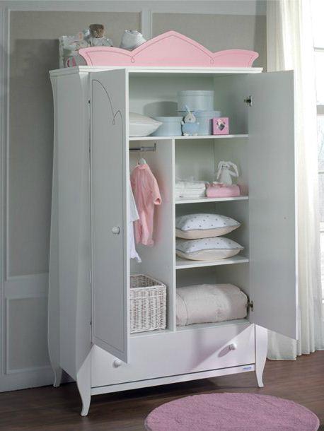 Adorno armario c moda anastasia rosa de micuna for Armario habitacion nina