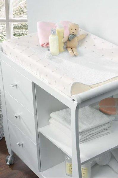 Funda colchoneta para mueble cambiador anastasia de micuna - Mueble cambiador bebe ...