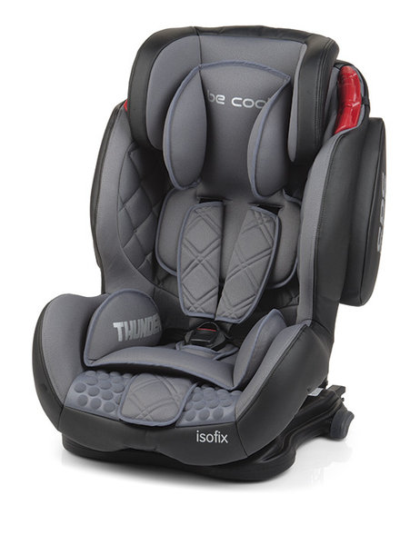 Silla de auto thunder isofix de be cool for Coches con silla para bebe