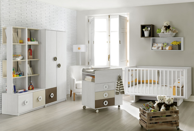 Ros mini 3 cuna tac de muebles ros 2014 for Muebles infantiles ros