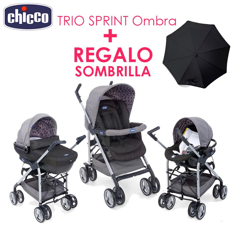 trio sprint chicco 2015 regalo sombrilla. Black Bedroom Furniture Sets. Home Design Ideas