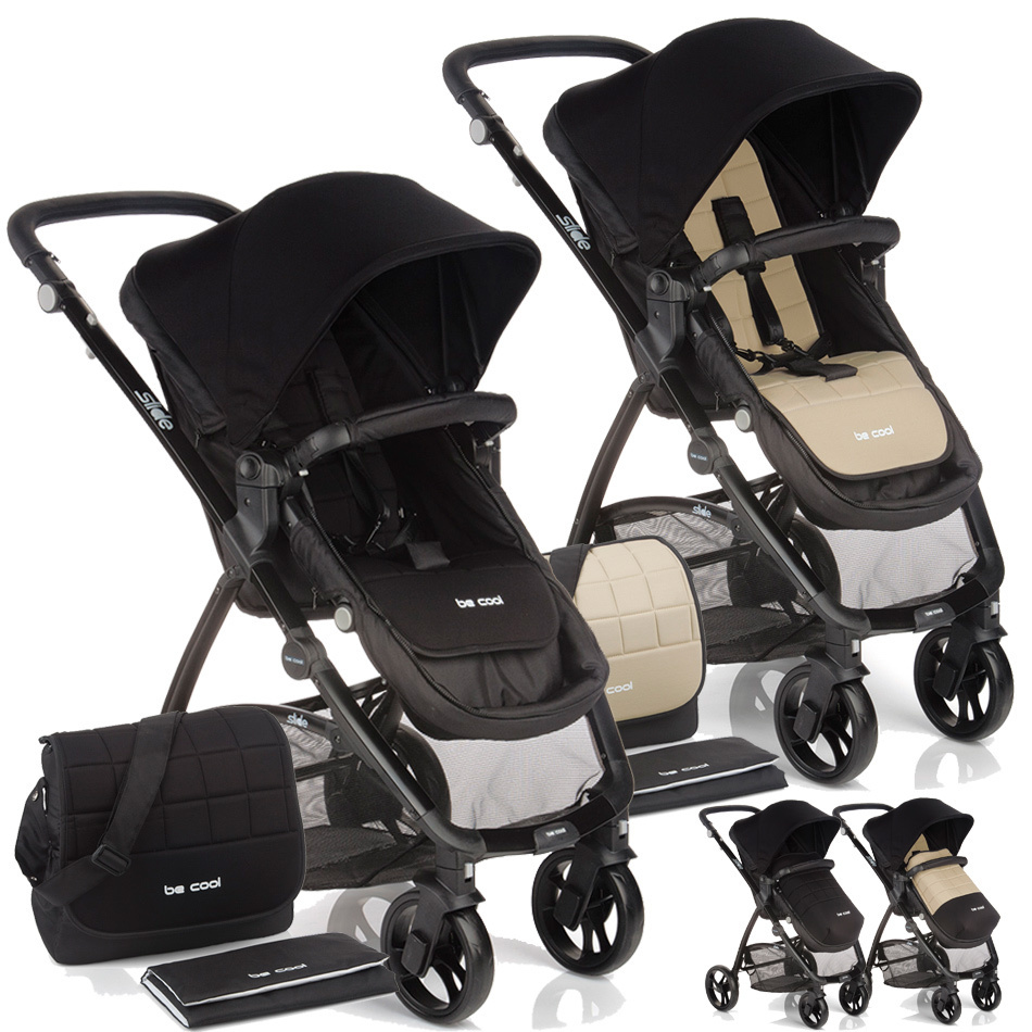 Silla de paseo slide zen black vs marfil de be cool 2015 - Silla paseo be cool ...