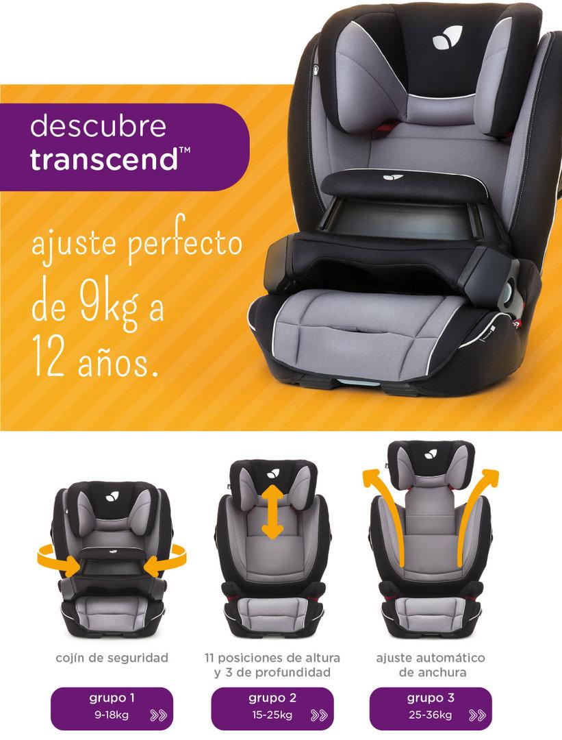 Silla de auto joie transcend grupo 1 2 3 for Silla auto grupo 1 2 3