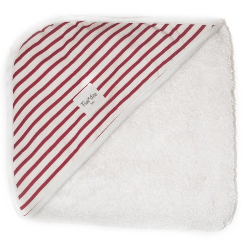 Medidas Toalla Baño Bebe:Toalla de baño bebé 80*80cm Red Sailor Fundas Bcn