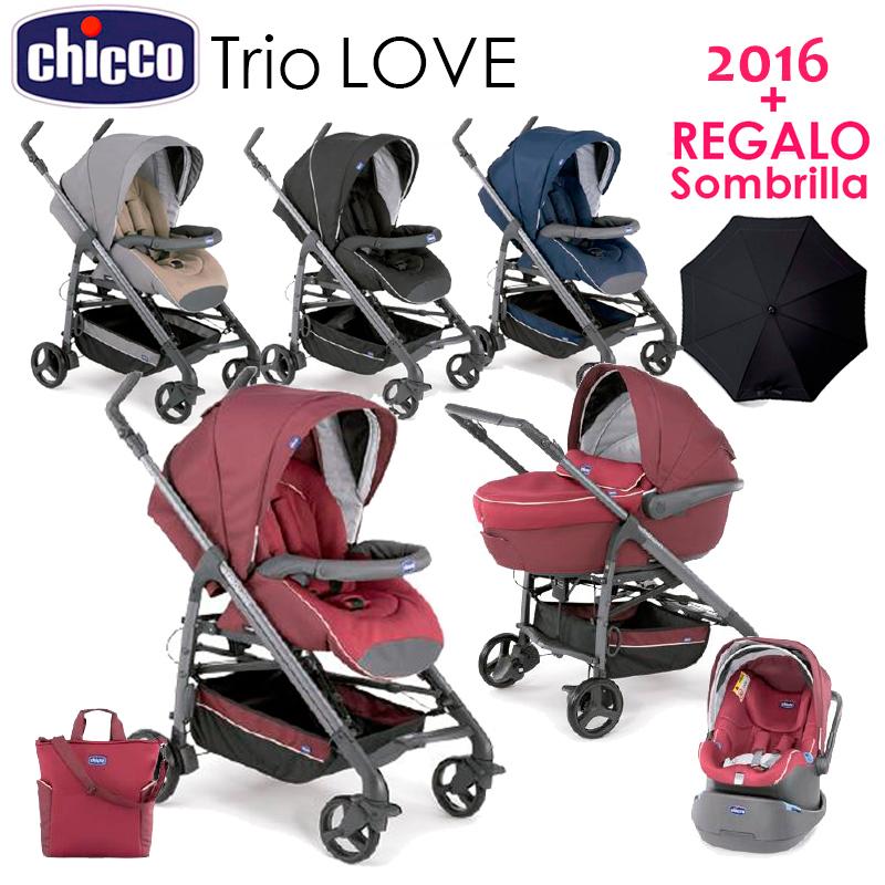 trio love kit car chicco 2016 regalo sombrilla. Black Bedroom Furniture Sets. Home Design Ideas