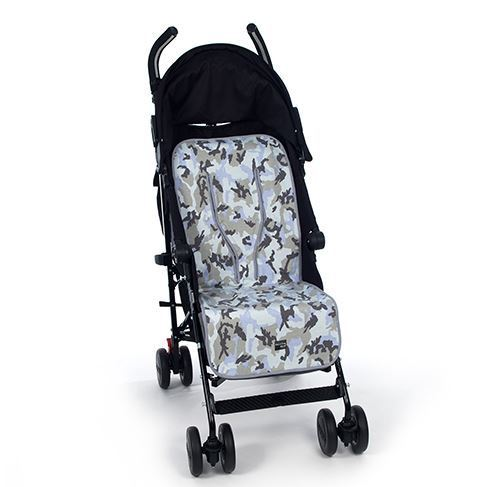 Walking mum colchoneta para silla de paseo camouflage azul - Colchonetas para sillas de paseo originales ...