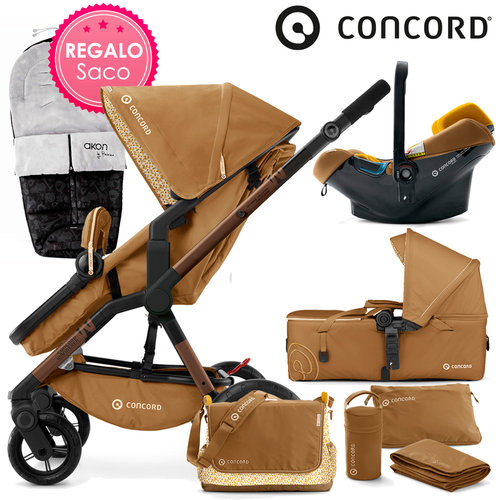 Concord WANDERER Mobility-Set Sweet Curry 2016 + REGALO Saco