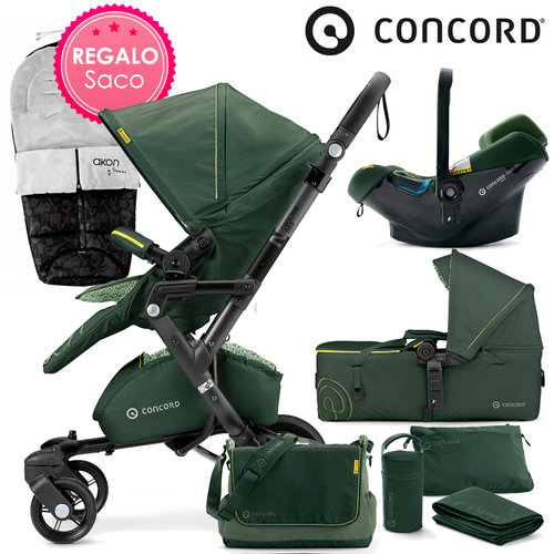 Concord NEO Mobility-Set Jungle Green 2016 + REGALO Saco