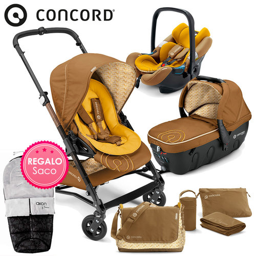 Concord SOUL Travel-Set Sweet Curry 2016 + REGALO Saco