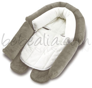 Cuddle-Soft Funda Reductora Gris/Marfil de Diono