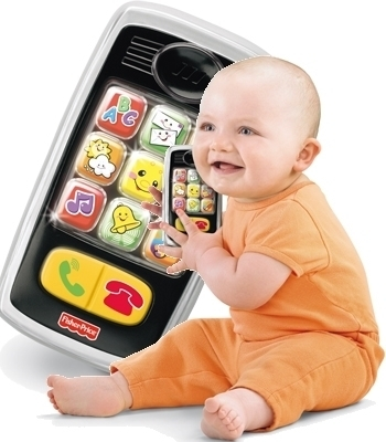 Teléfono divertiteclas Fisher-Price