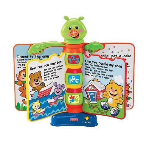 Libro Interactivo de Aprendizaje Fisher-Price