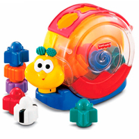 Caracol Bloques y Música Fisher-Price