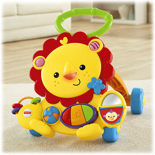 León Andador Musical Fisher-Price