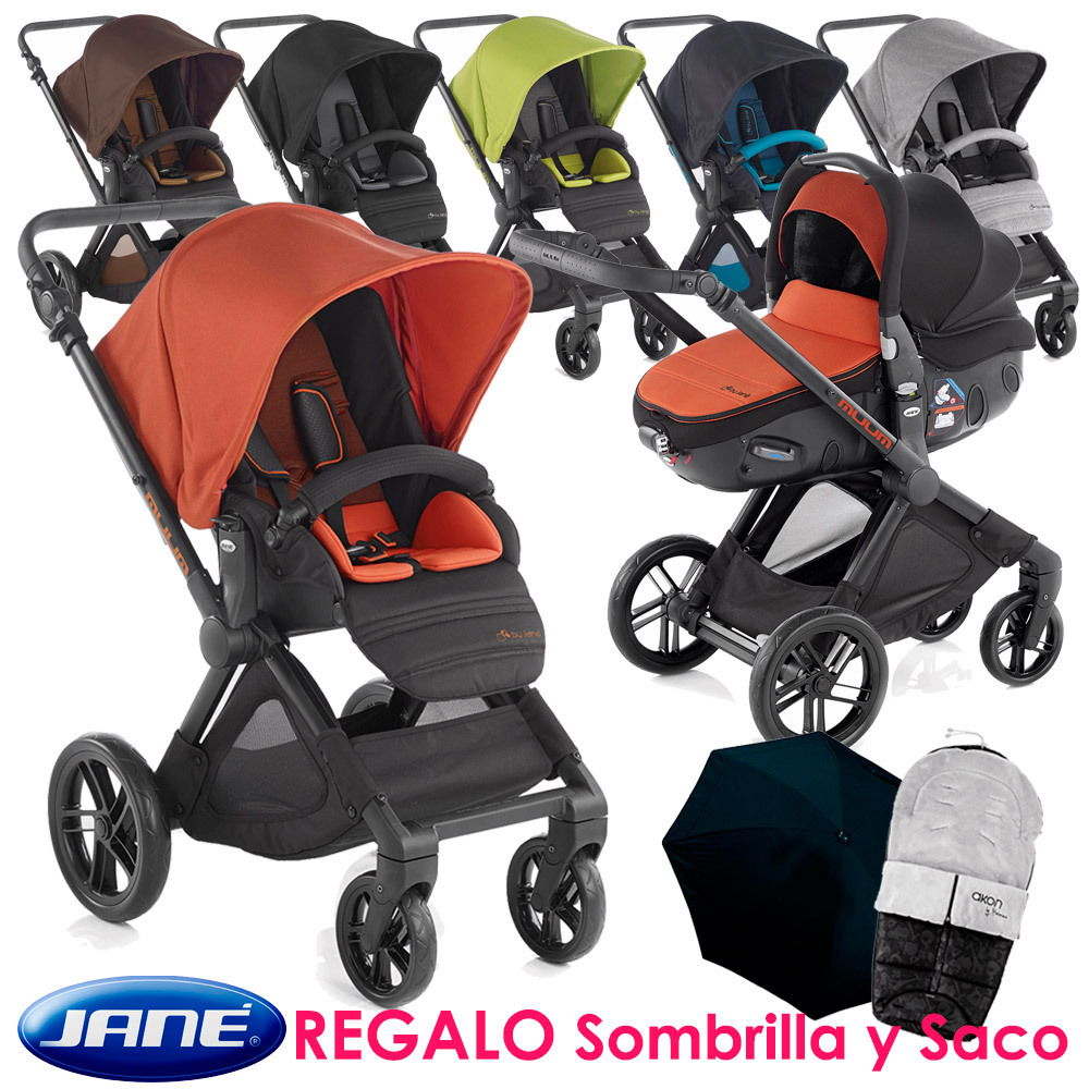 Coche Jané Muum Matrix Light 2 Teal Original Baby