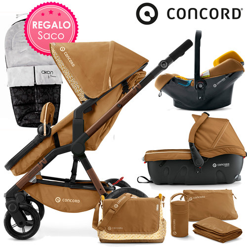 Concord WANDERER Travel-Set Sweet Curry 2016 + REGALO Saco