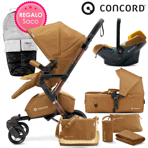 Concord NEO Mobility-Set Sweet Curry 2016 + REGALO Saco
