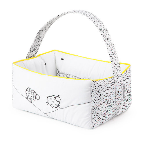 Cesta Rectangular GOOD NIGHT de Petit Praia