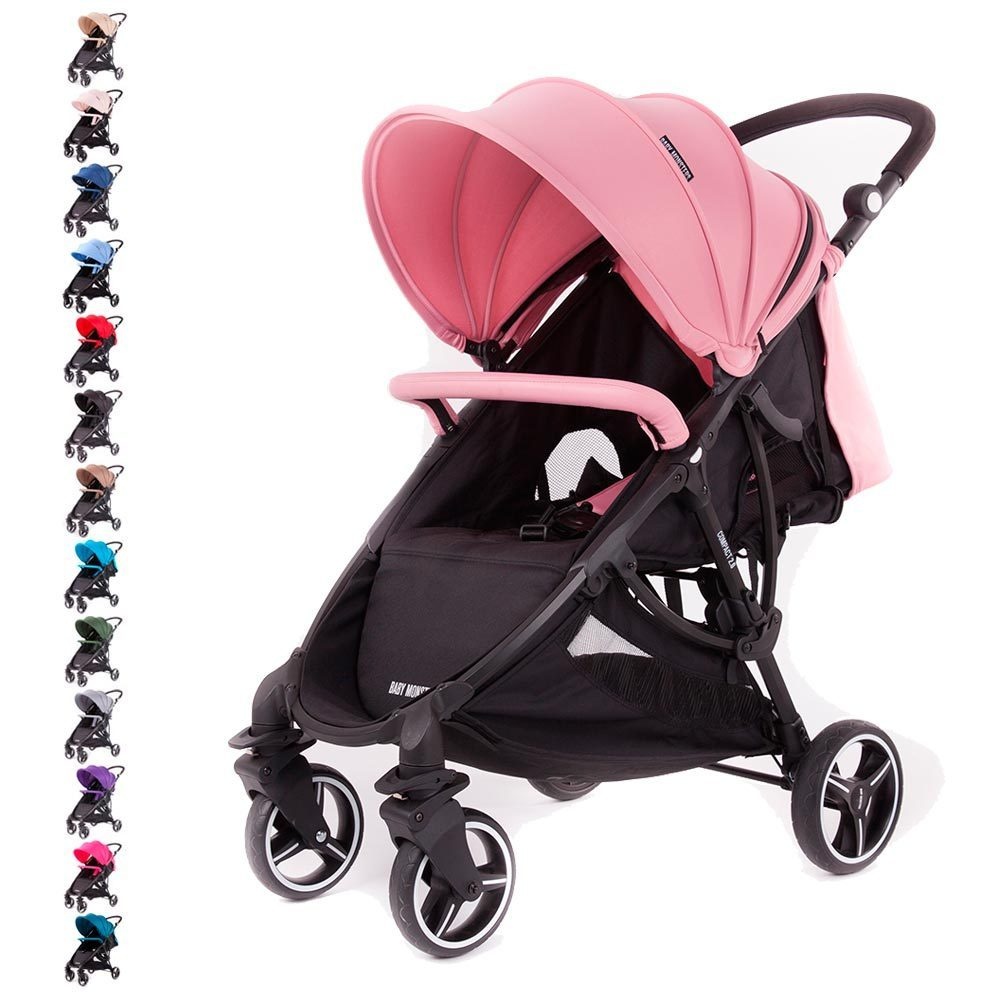 silla paseo bebe monster