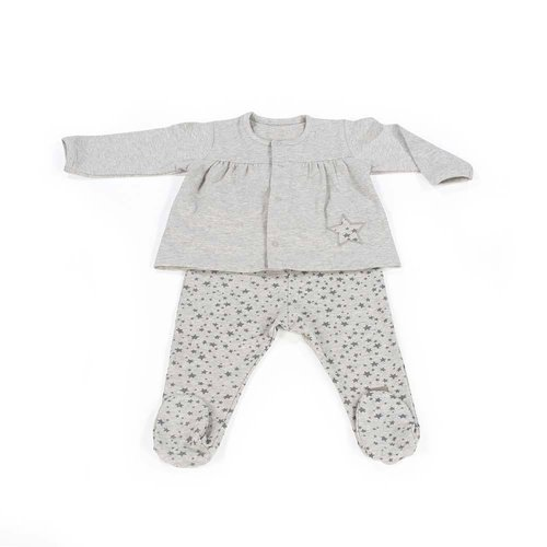 Walking Mum Jersey y Polaina Stars Be Gris Niña 436043