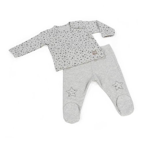 Walking Mum Jersey y Polaina Stars Be Gris Niño 436044
