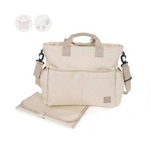 Walking Mum Bolsa Canastilla Happy Chic Beige 436096