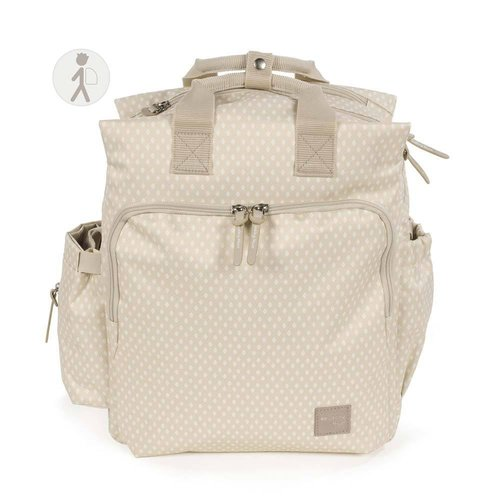 Walking Mum Mochila Happy Chic Beige 436098