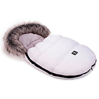 Saco de invierno Capazo Grupo 0 Mini Moose Cottonmoose White