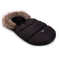 Saco de invierno Capazo Grupo 0 Mini Moose Cottonmoose Black