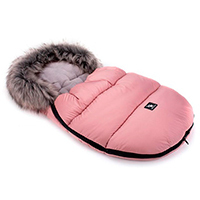 Saco de invierno Capazo Grupo 0 Mini Moose Cottonmoose Pink