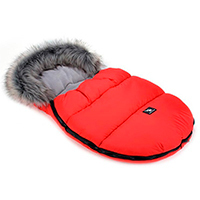 Saco de invierno Capazo Grupo 0 Mini Moose Cottonmoose Red