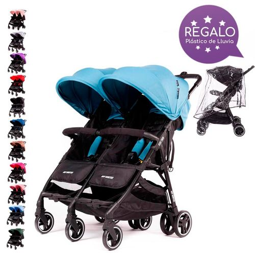 Silla de Paseo Gemelar KUKI TWIN Baby Monsters